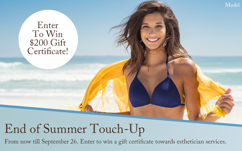 Enter to Win a $200 Gift Certificate - End of Summer Touch-Up